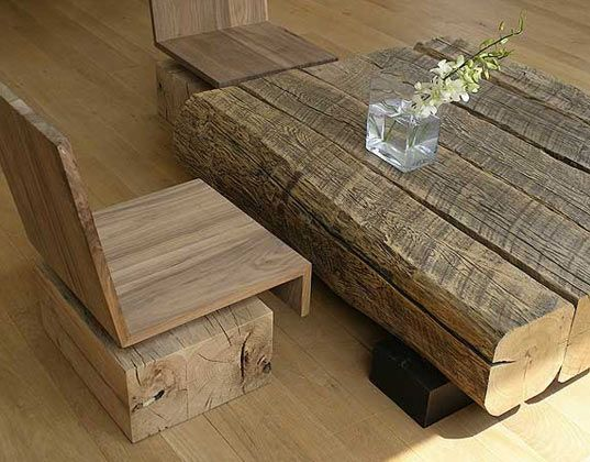 Reclaimed wood furniture  wood furniture  Pinterest  Recycled