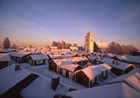 Gammelstad Church Town, Nederluleå, Norrbotten, Sweden | Flickr