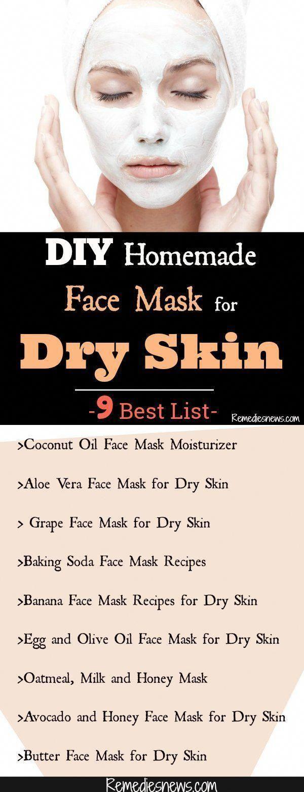 Diy Homemade Face Mask For Dry Skin Do You Want To Know Which Face Mask Is Best For Dry Skin F Mask For Dry Skin Moisturizing Face Mask Coconut Oil Face