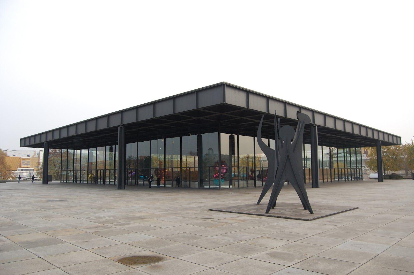 galeria nacional de berlin | Este es el último museo del afamado arquitecto Mies van der Rohe, y ...