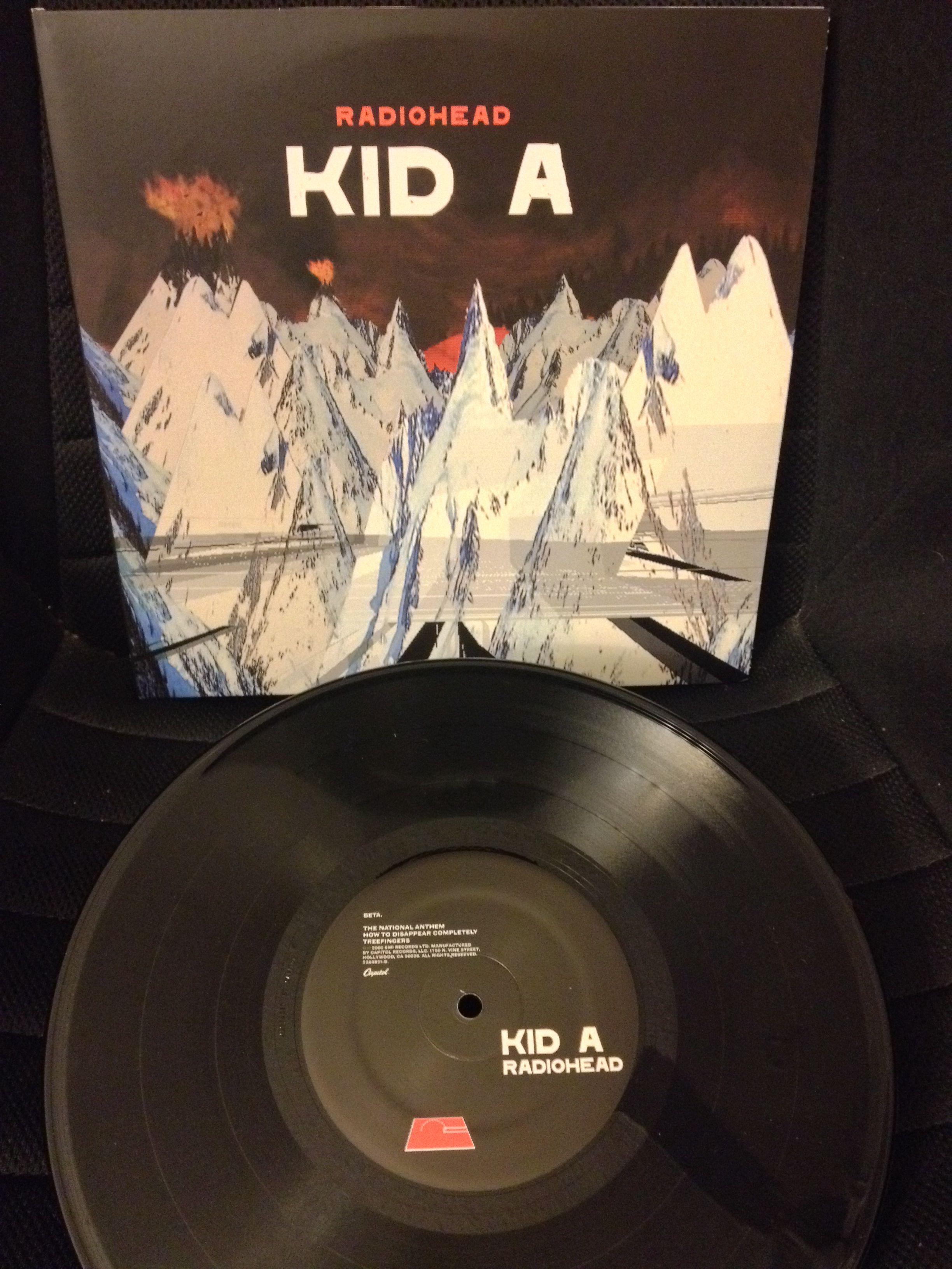 Radiohead Kid A 10 Vinyl Radiohead Kid A Radiohead Vinyl Records
