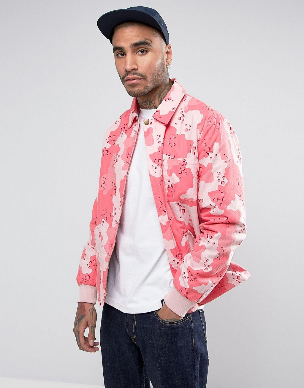 Discover the best deals for your next ASOS Coach Jacket in Washed Pink Camo Print in Camo on sale at Label Therapy. Shop the best fashion price comparison site to find more sales from ASOS