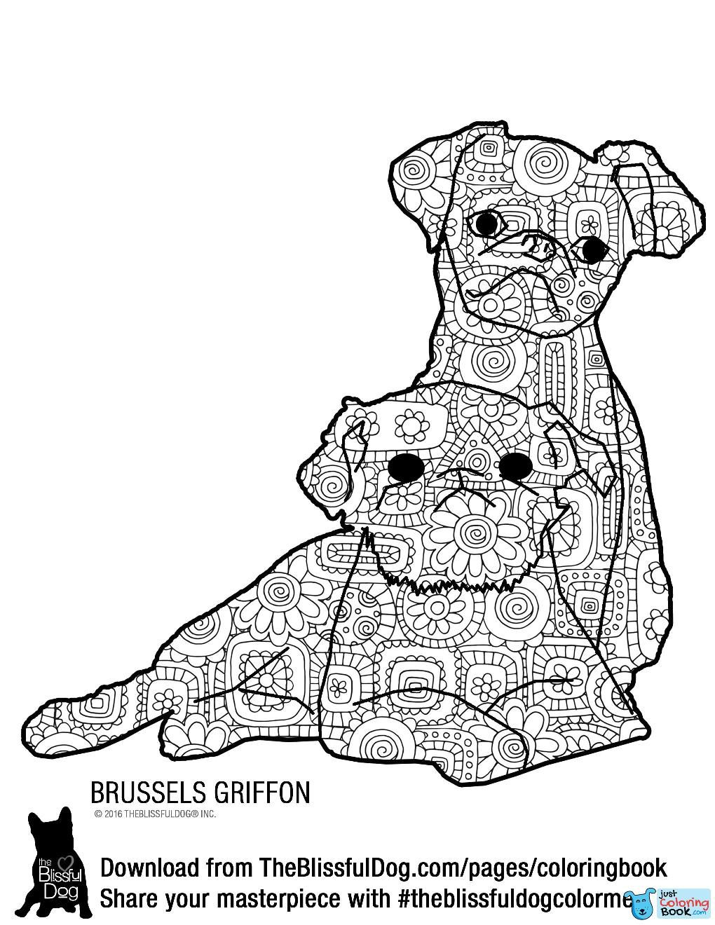 Coloring Book Dog Coloring Book Pages Download Free Dog Coloring For Brussels Griffon Coloring Pages Bilder