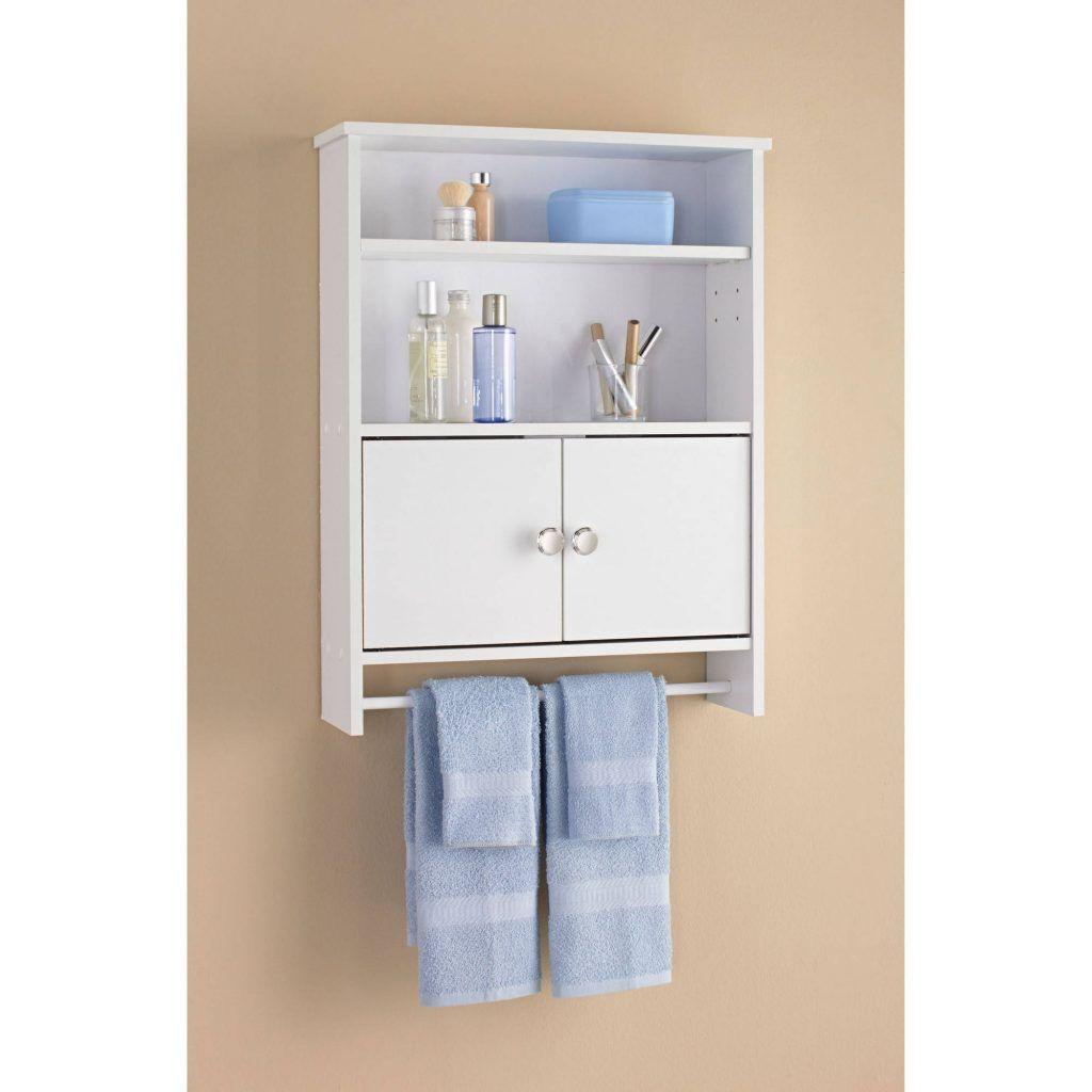 bathroom wall cabinets mainstays 2 door wood wall cabinet white
