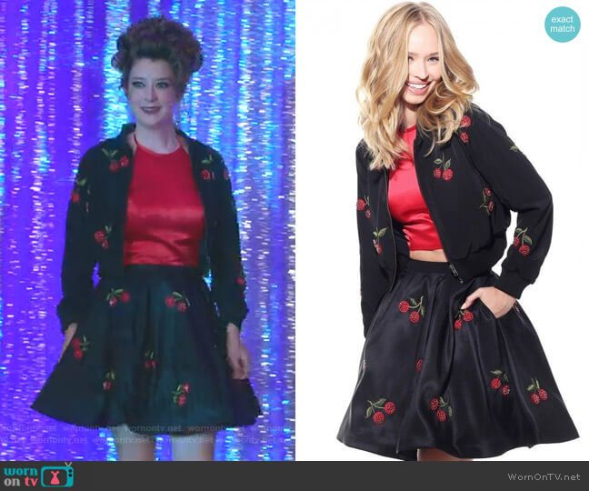 8b99a92c132 Sherri Hill J51175   51269 Two Piece Cherry Dress and Jacket in 2019 ...