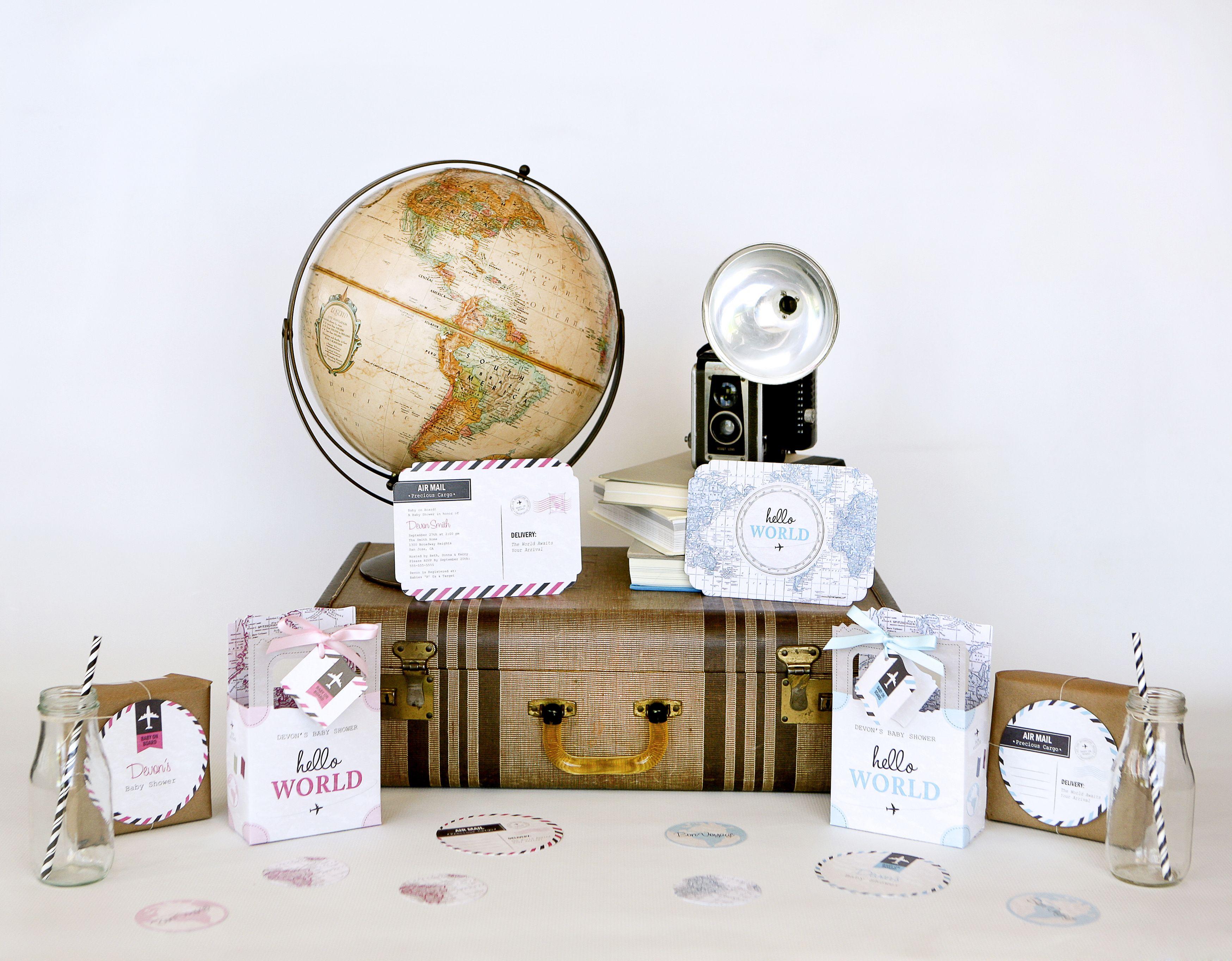 Hello World Precious Cargo Baby Shower Themes Wel e to the