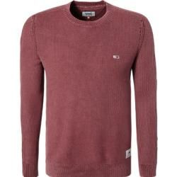 Photo of Tommy Jeans Pullover Männer, Baumwolle, rot Tommy Hilfiger