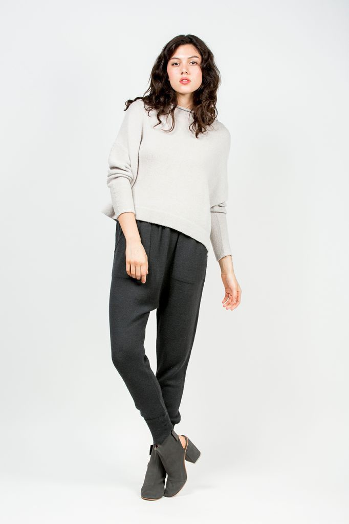Solid arch pants soft black by lauren manoogian kp outfitting solid arch pants soft black by lauren manoogian sciox Choice Image