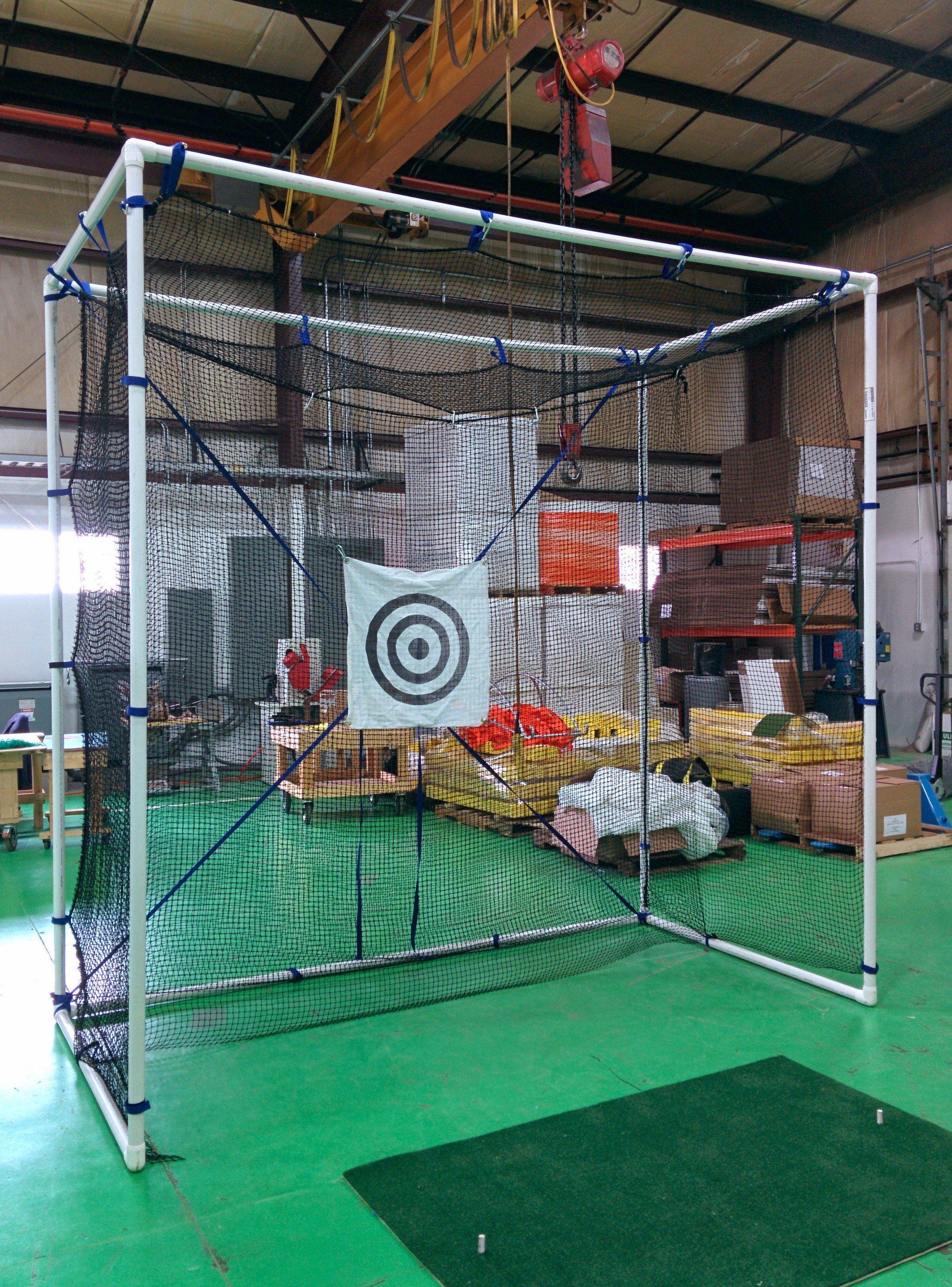 Medium golf cage off set Golf net, Golf driving net