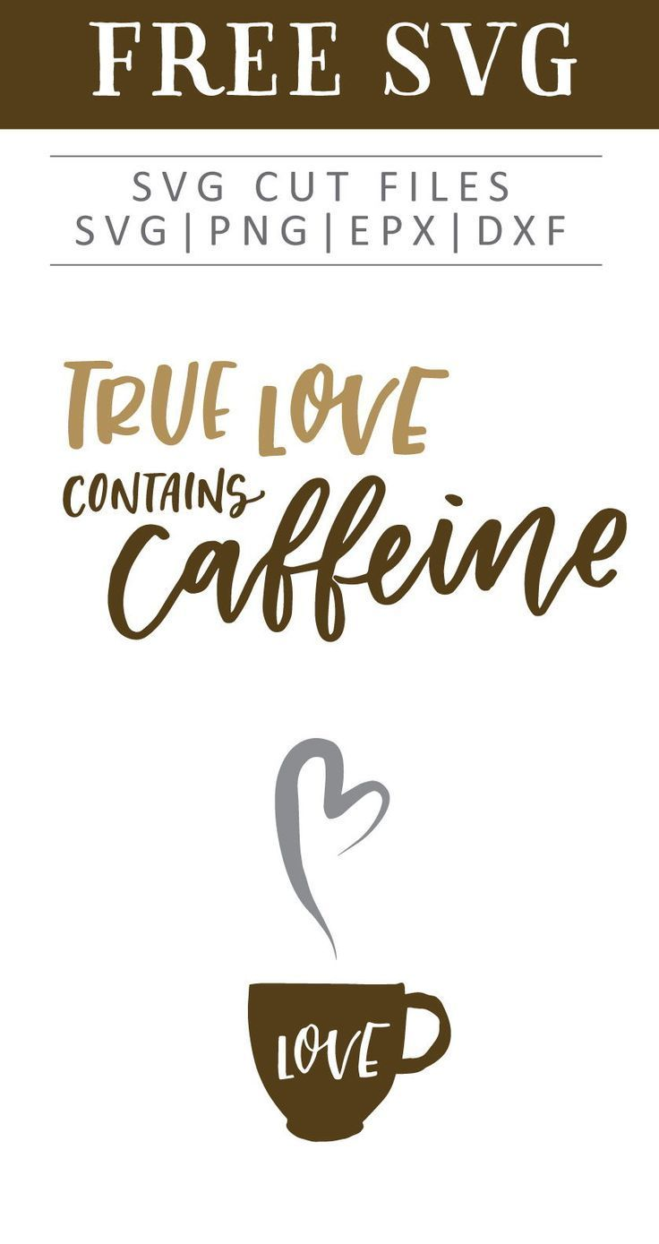 Download Free Coffee Love SVG, PNG, EPS & DXF by   Coffee quote svg ...
