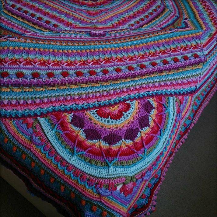Sophie\'s Alternate Universe Crochet Pattern   Mandala   Pinterest ...