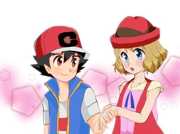 Pin By Mariana Mata On Pokemon Ash And Serena Pokemon Journeys Pokemon Manga Ash Pokemon