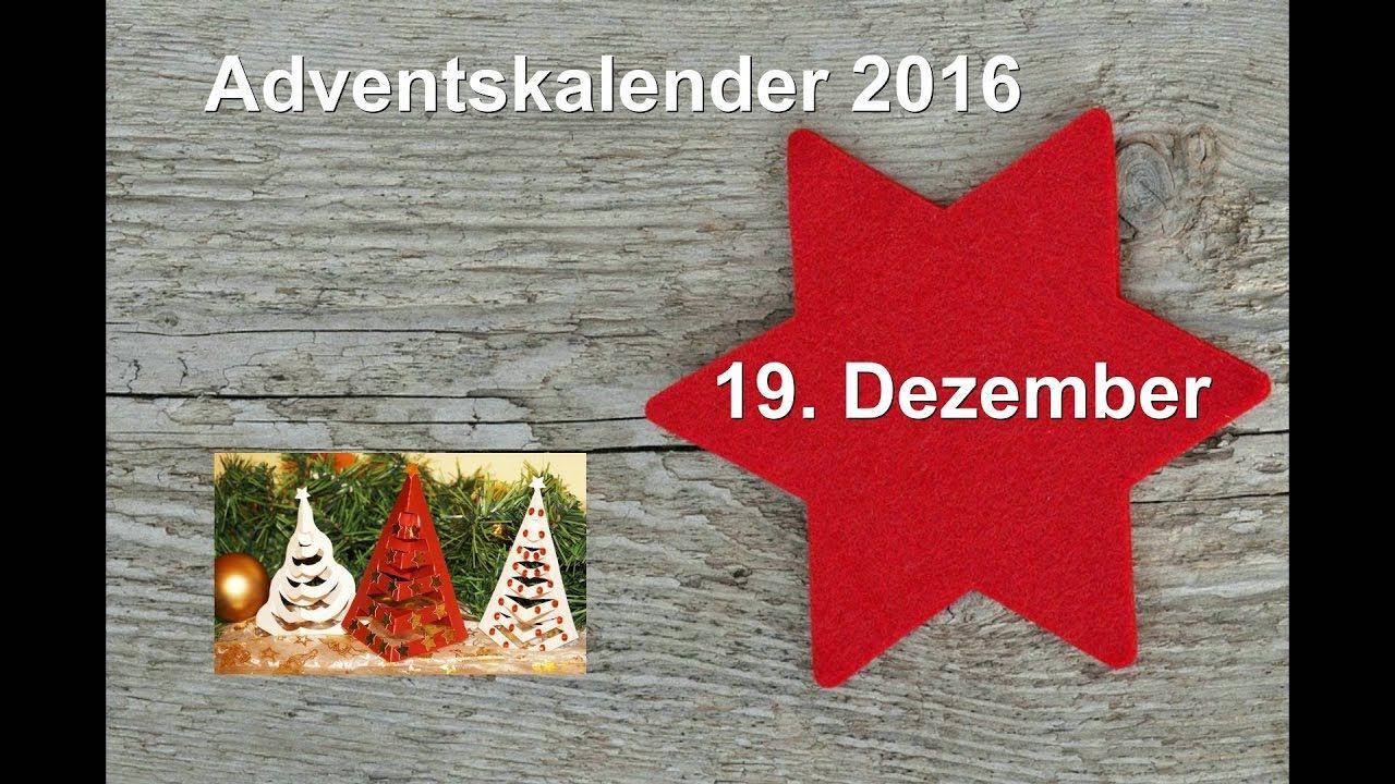 Weihnachtsbäume aus Papier/RuthvonG