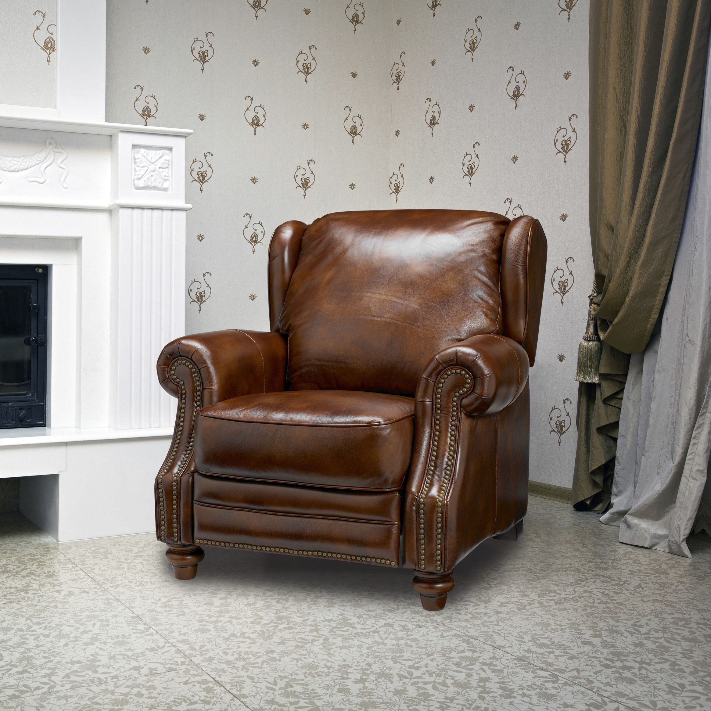Pleasing Sofas To Go Henderson Leather Wing Recliner Recliner Club Machost Co Dining Chair Design Ideas Machostcouk