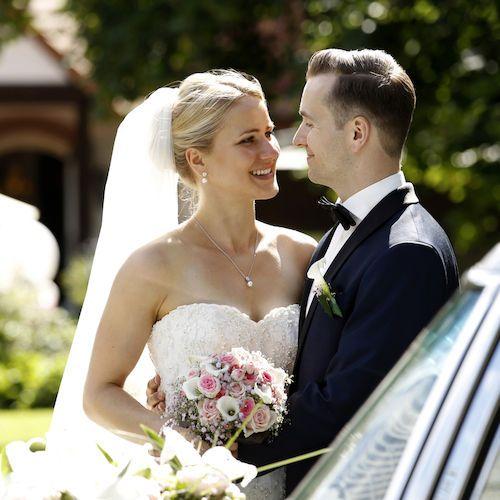 Hochzeitsfotografie Fotostudio Wilder - Hochzeit Braut Brautkleid Schleier Brautstrauß Bräutigam Hochzeitsfoto