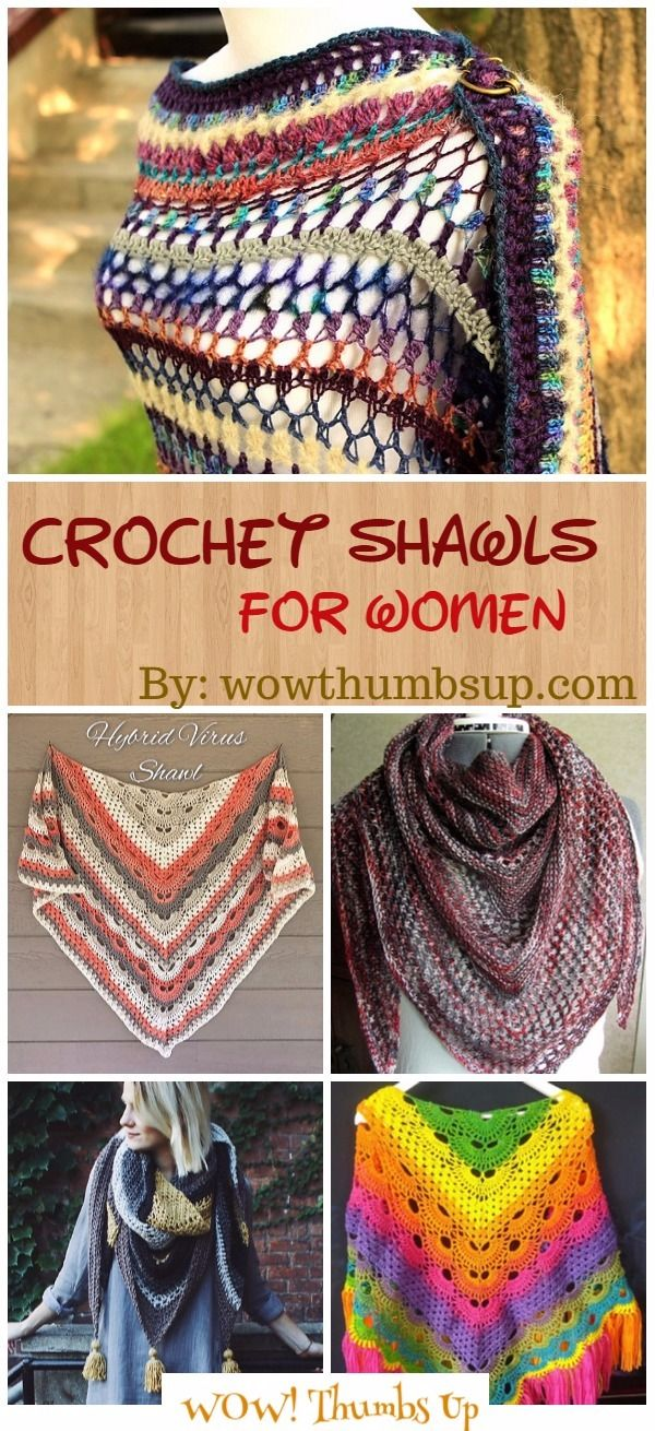 Crochet Shawl Patterns for Women All Seasons | Häkeltuch ...