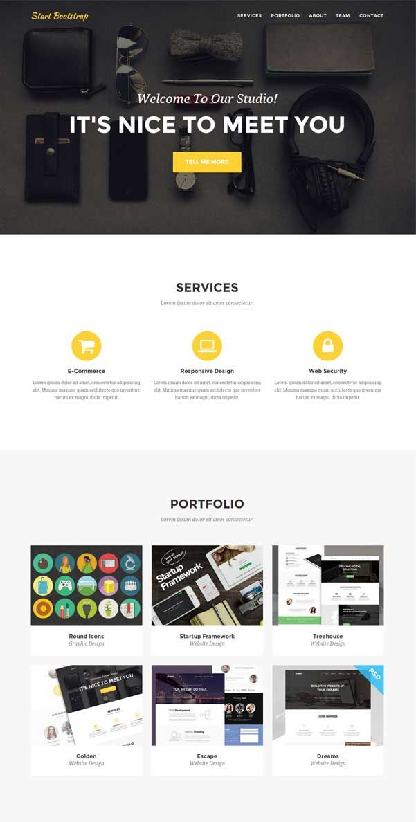 30 Bootstrap Website Templates Free Download Free Website Templates Website Template Web Design