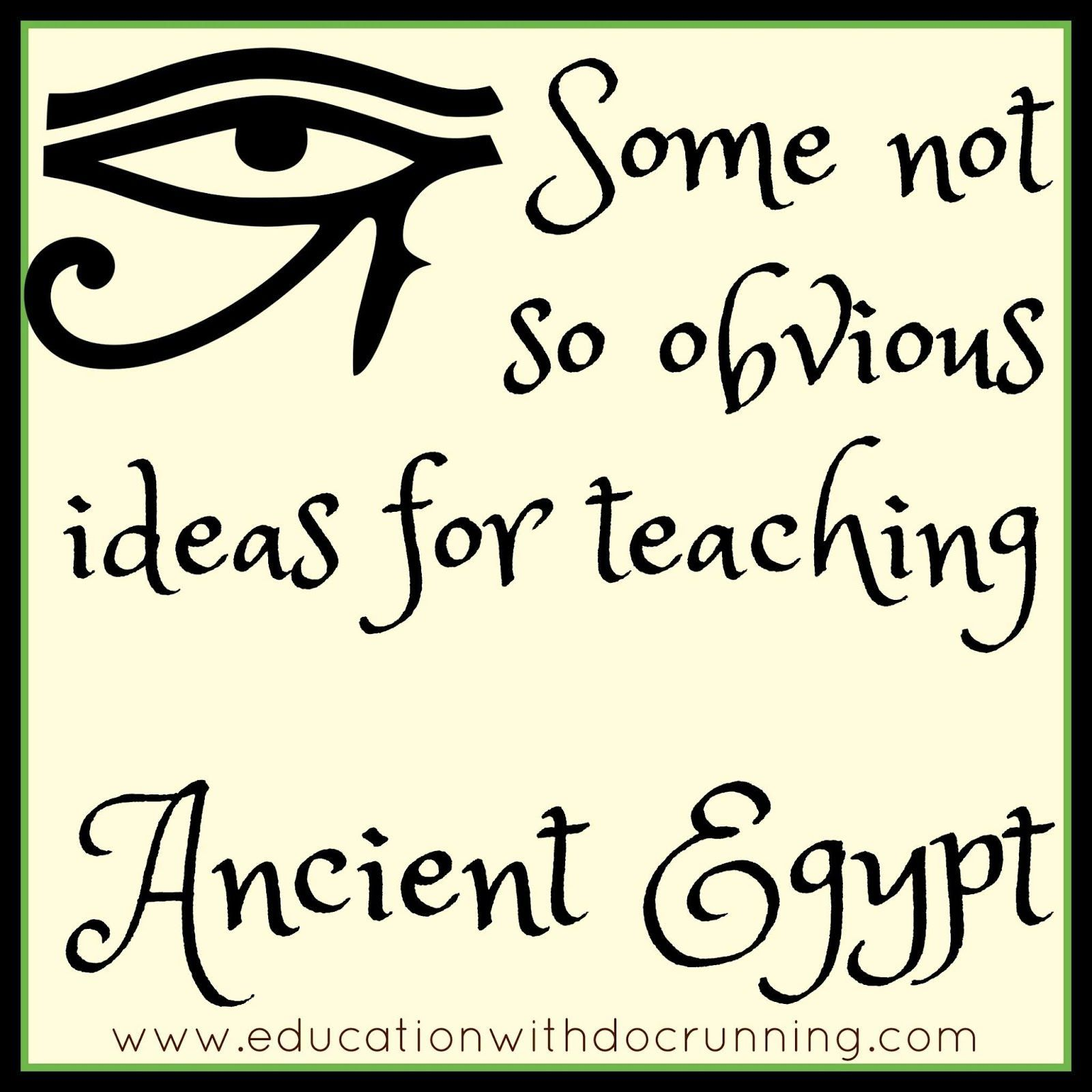 Ideas For Teaching Ancient Egypt For Your Middle School