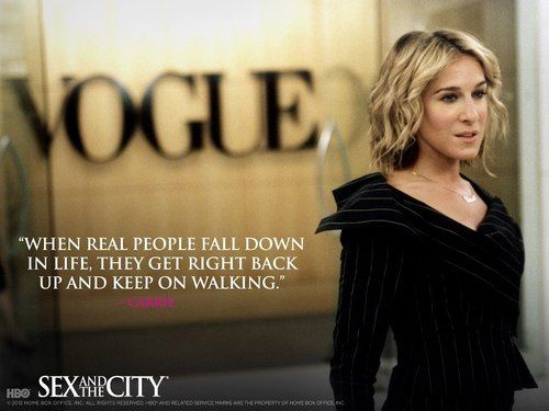 carrie bradshaw dating quotes