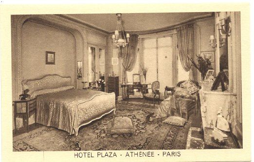 Vintage postcards from paris google search hotel decor for 1920s hotel decor