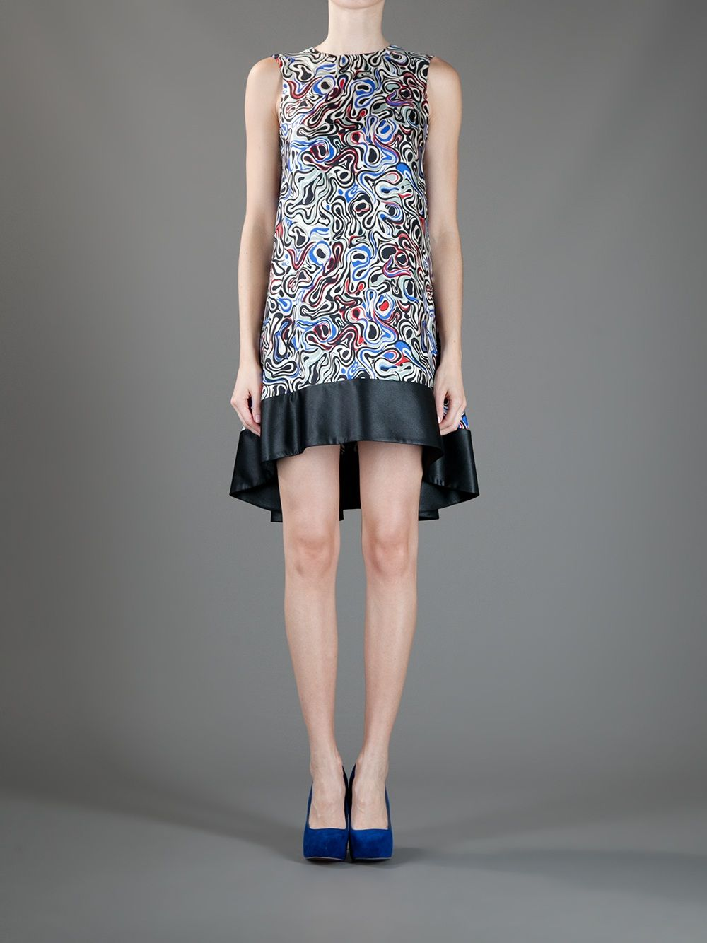 Balenciaga Abstract Dress - Tessabit - farfetch.com