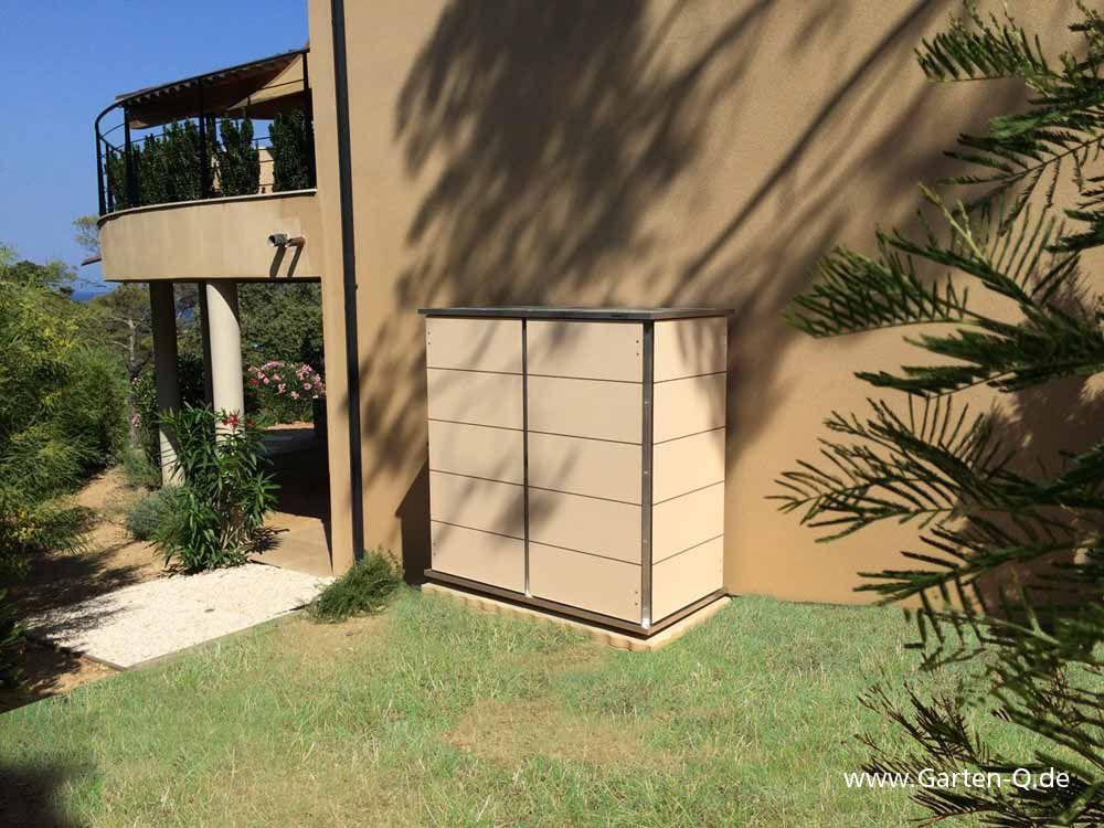 Hochwertiger Design Gartenschrank Beige Bzw Terracotta Optimal Fur Ihr Ferienhaus In Spanien Gartenschrank Ferienwohnung Gartendesign Ideen