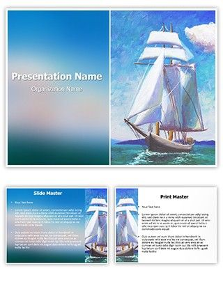 watercolor powerpoint template