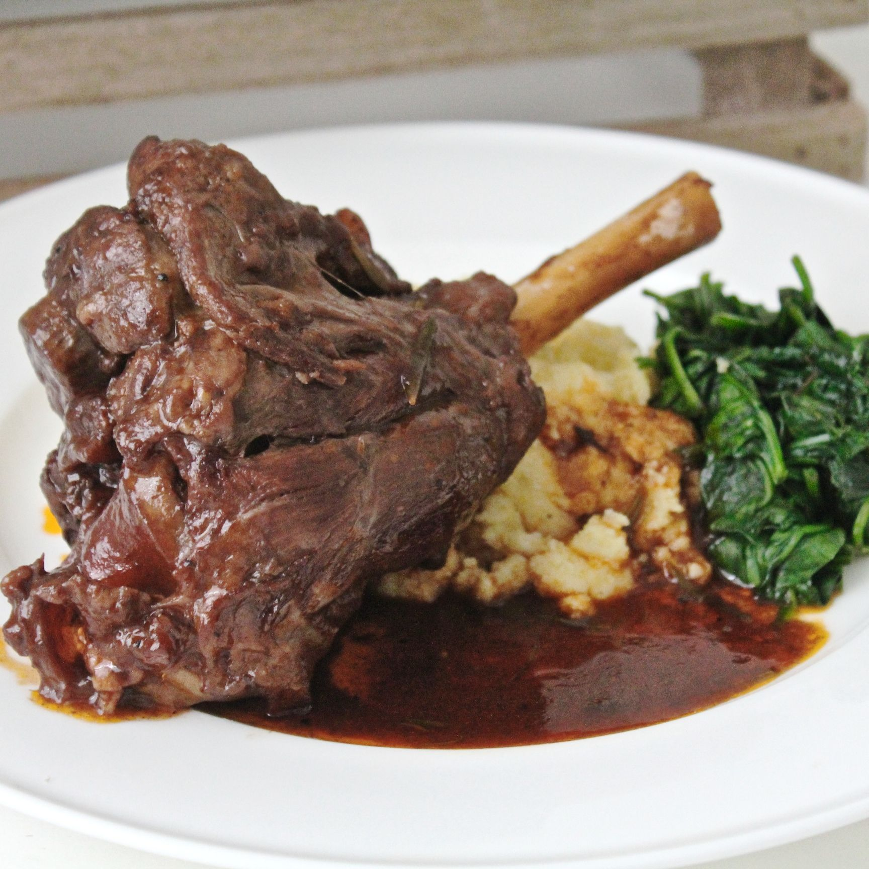RECIPE - Slow Cooked Lamb Shanks | Slow cooked lamb shanks, Slow ... for Cooked Lamb Meat  535wja