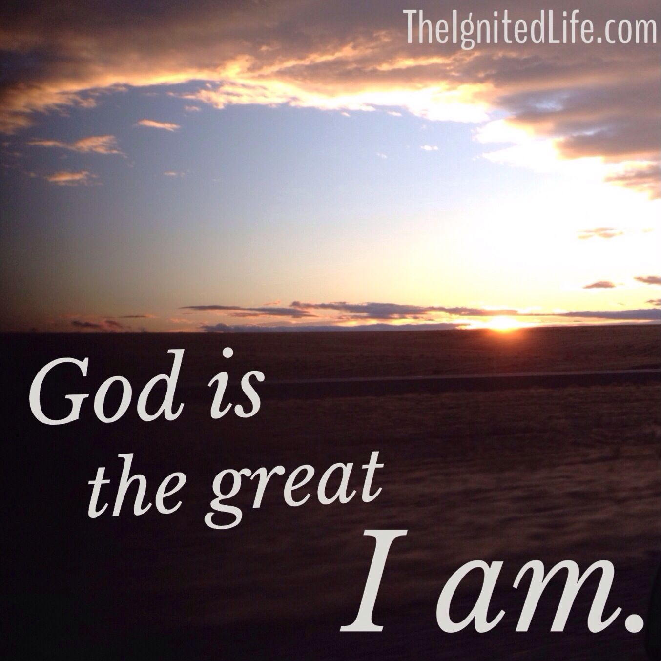 God is so good.  He is the great I AM, not I WAS or WILL BE.  I have all I need in Him.