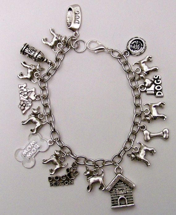 Love my Chihuahua Charm Bracelet by InspiredDesignsByRob on Etsy