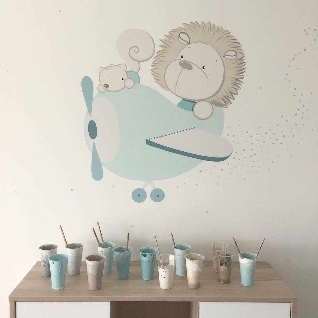 Pin De Martine En Peinture Enfant Murales Paredes Pintadas