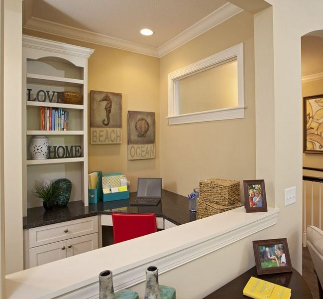 The Pulte Planning CenterTM Gives You Space To Manage Your Busy Home Life And Stay Organized While Being Close Main Living Area Of