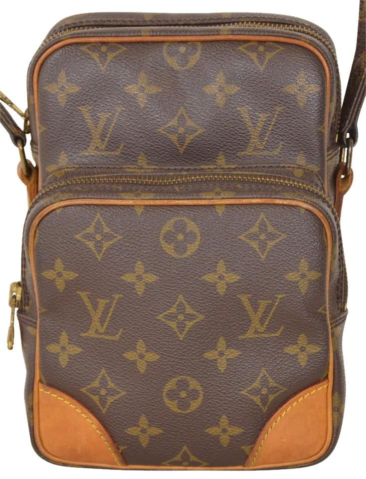31d2c7e70f11 Louis Vuitton Monogram Amazon With Adjustable Strap M45236 Brown Cross Body  Bag. Get the trendiest
