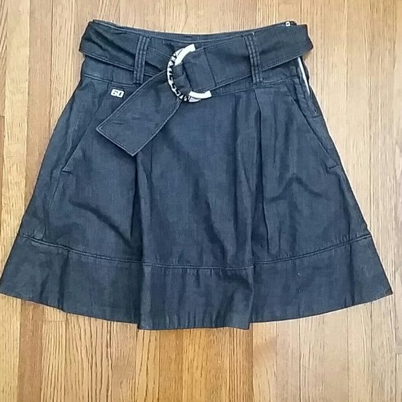 "Selling this ""Miss Sixty high waisted denim mini"" in my Poshmark closet! My username is: janeenieb. #shopmycloset #poshmark #fashion #shopping #style #forsale #Miss Sixty  #Dresses & Skirts"