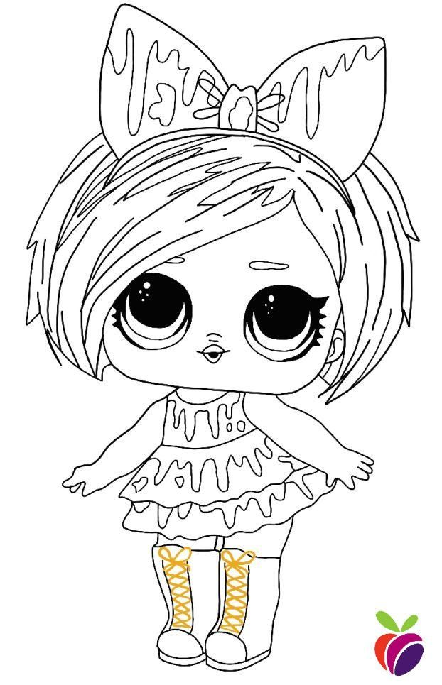 Free L O L Surprise Hairgoals Series Dolls Coloring Pages Free Printable Pages For Kids Cute Coloring Pages Cartoon Coloring Pages Coloring Pages