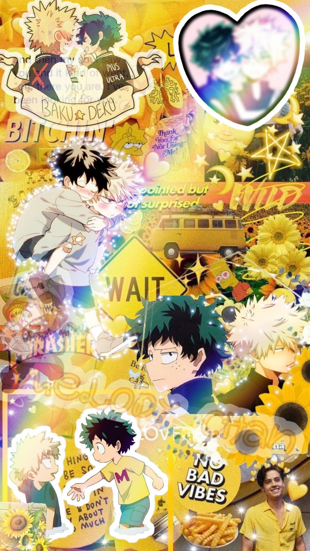 Edit De Bakudeku Uwu Cute Anime Wallpaper Anime Wallpaper Hero Wallpaper