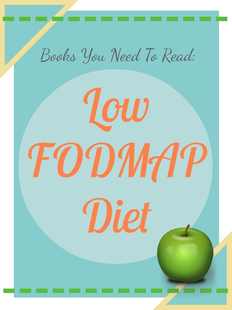 These Low FODMAP diet books helped me! ---> Here is a list of the BEST Low FODMAP Diet Books and Low FODMAP Cookbooks