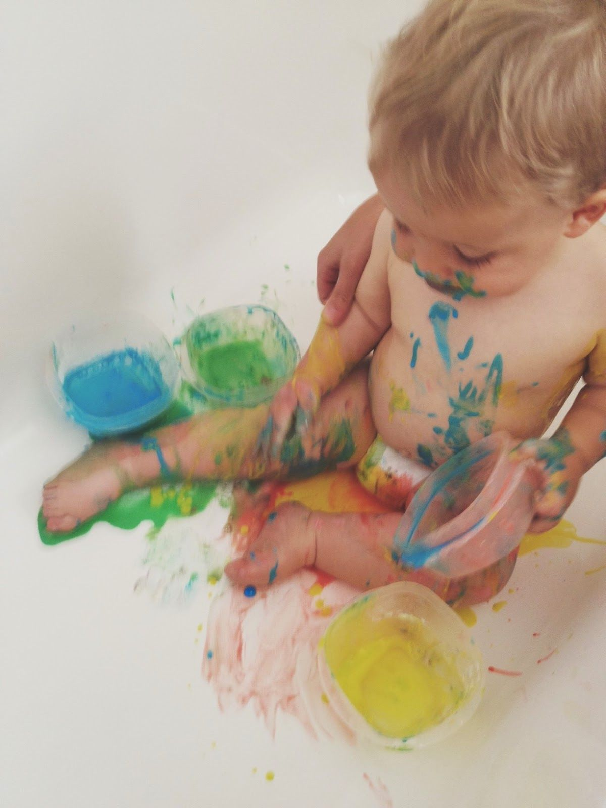 Bath Paints And Summer Days Off With Images Bath Paint