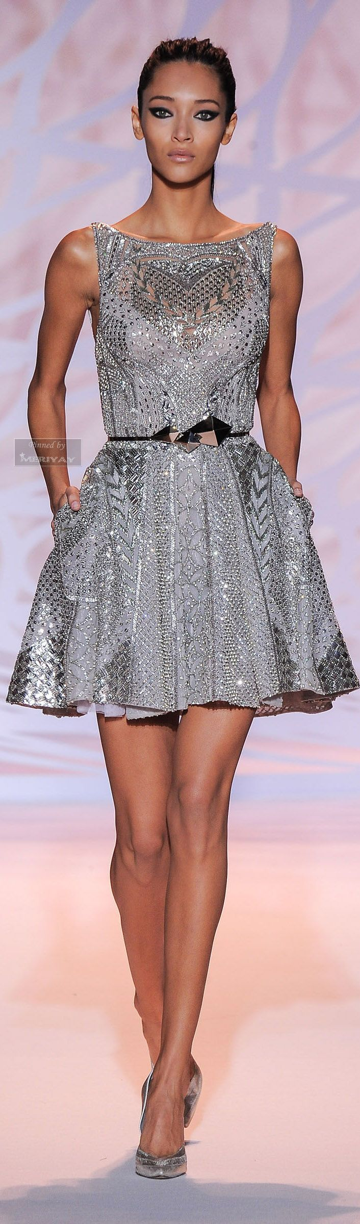 Zuhair murad fallwinter life is a party dress like it