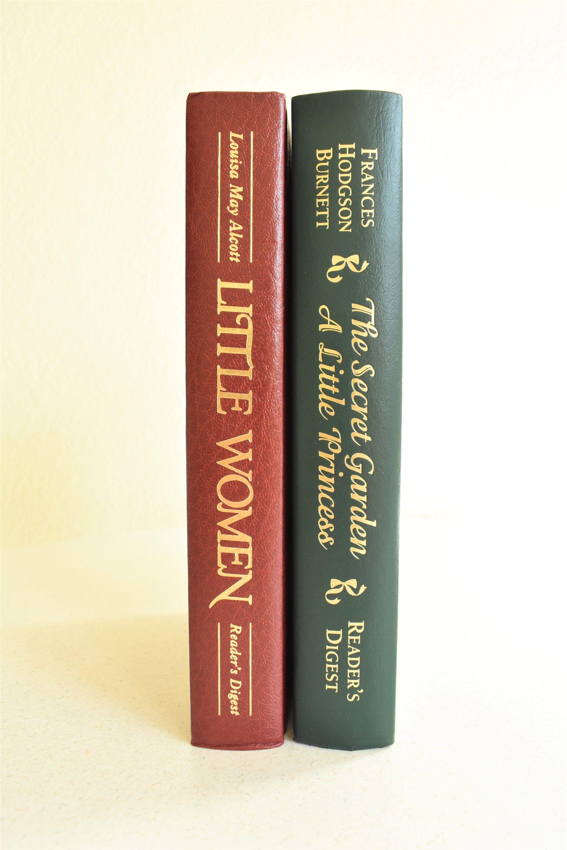 Little girl classic literature book set little women the