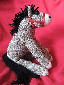 Sock Puppy Puppy Love Stuffed Puppy Rockford Red Heel Socks