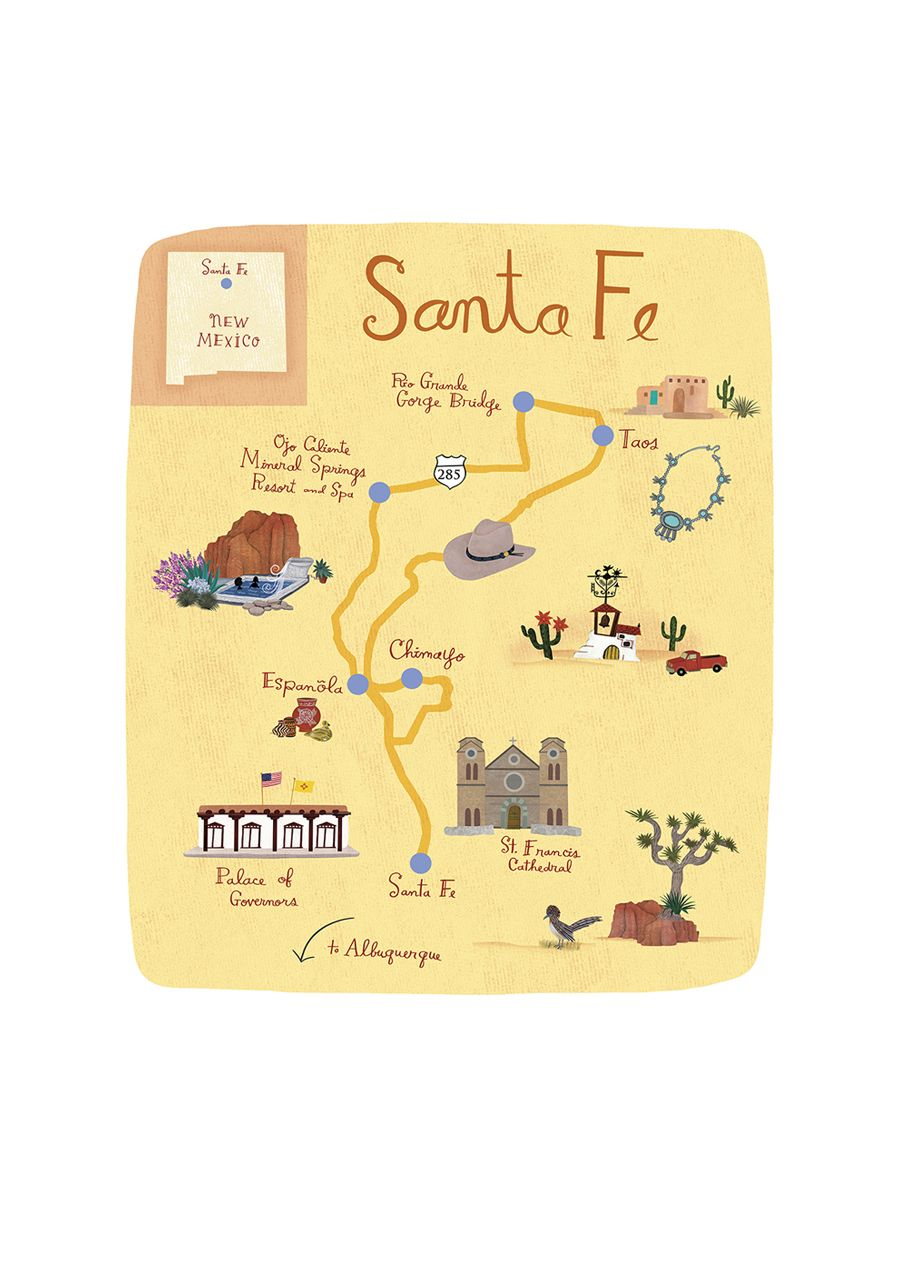Anne Smith - Santa Fe map | New Mexico in 2019 | Map art ... on washington map usa, richmond map usa, tacoma map usa, san antonio map usa, aspen map usa, new york map usa, chicago map usa, philadelphia map usa, san francisco map usa, boston map usa, detroit map usa, st louis map usa, full map of usa, charleston map usa, seattle map usa, los angeles map usa, pittsburgh map usa, denver map usa, atlanta map usa, wilmington map usa,