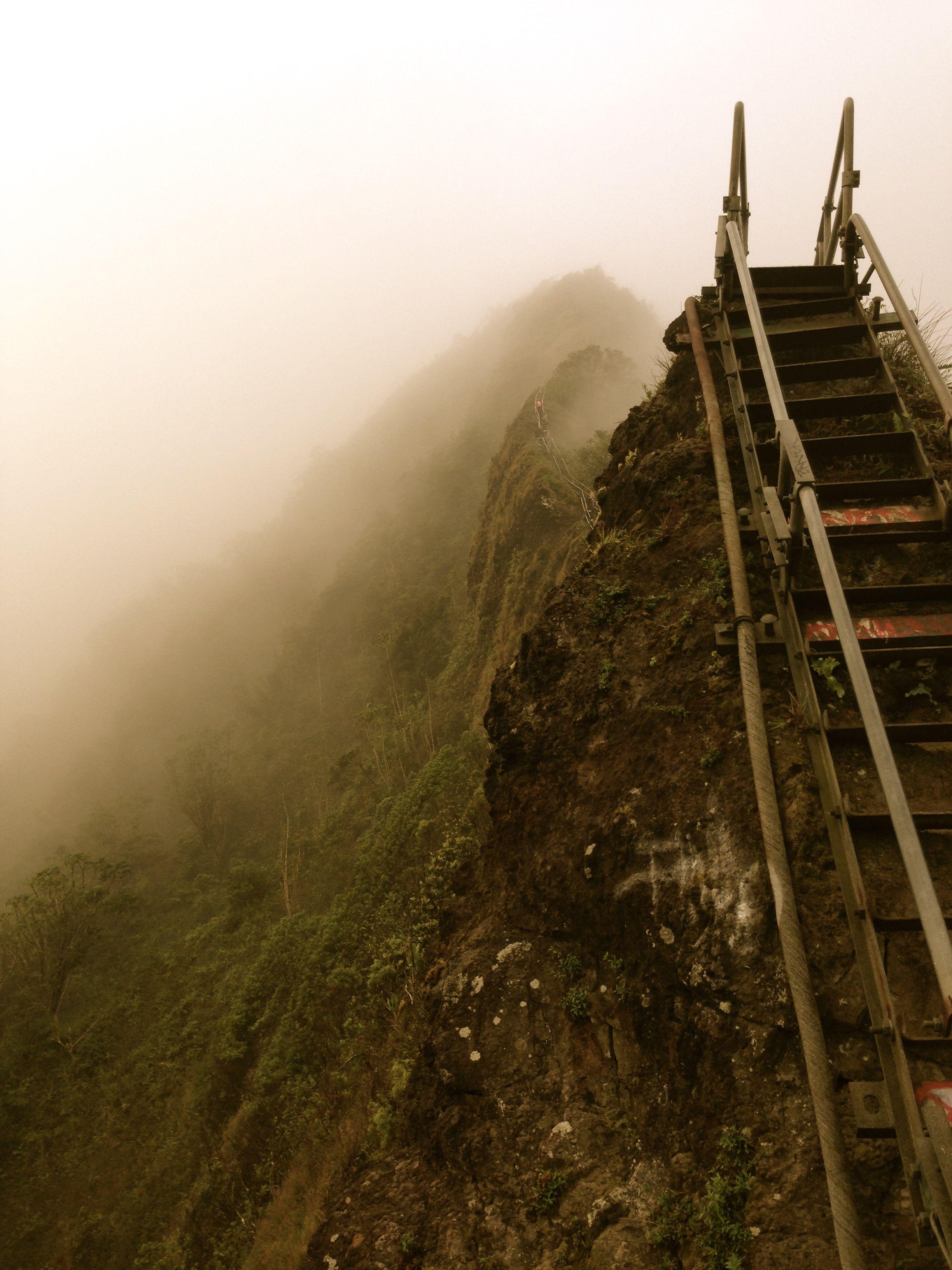 Stairway to Heaven trail (Haiku Stairs), Oahu, Hawaii