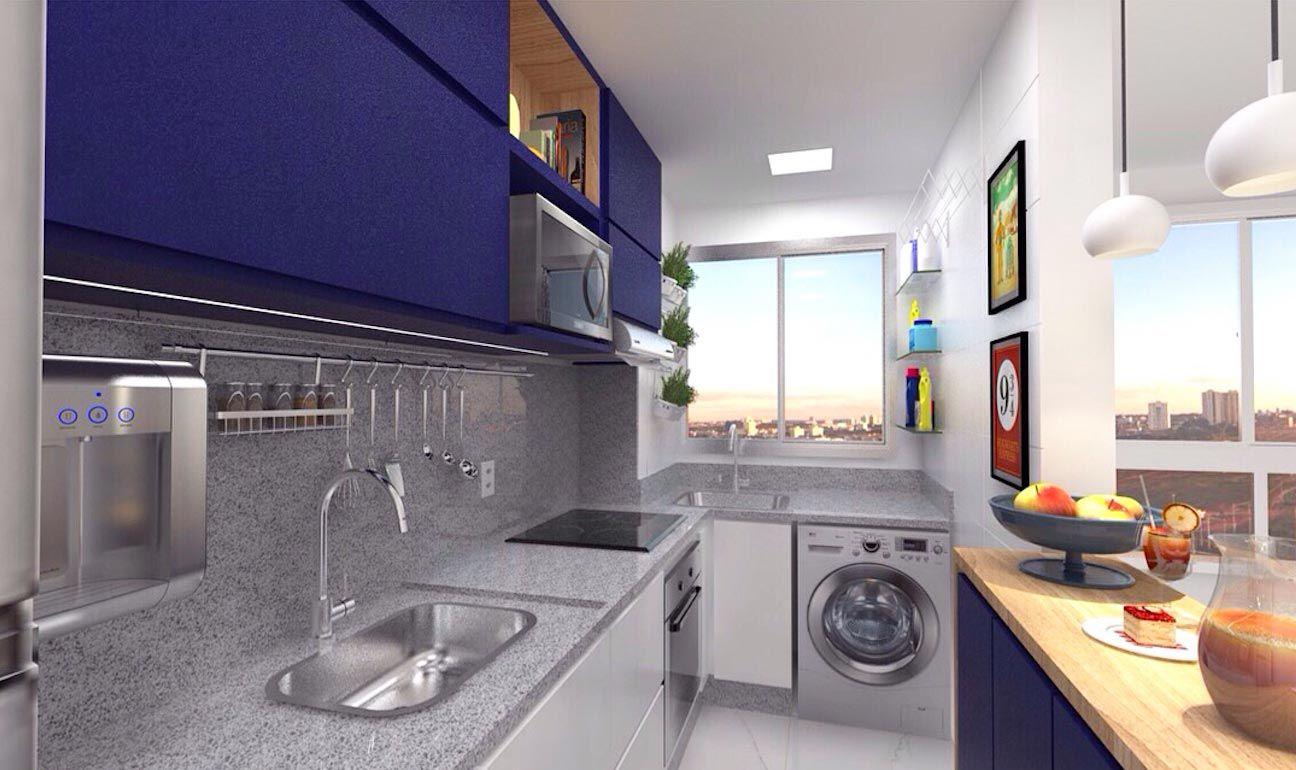 Projeto Cozinha Americana Pequena Cool Cozinha Pequena With Projeto