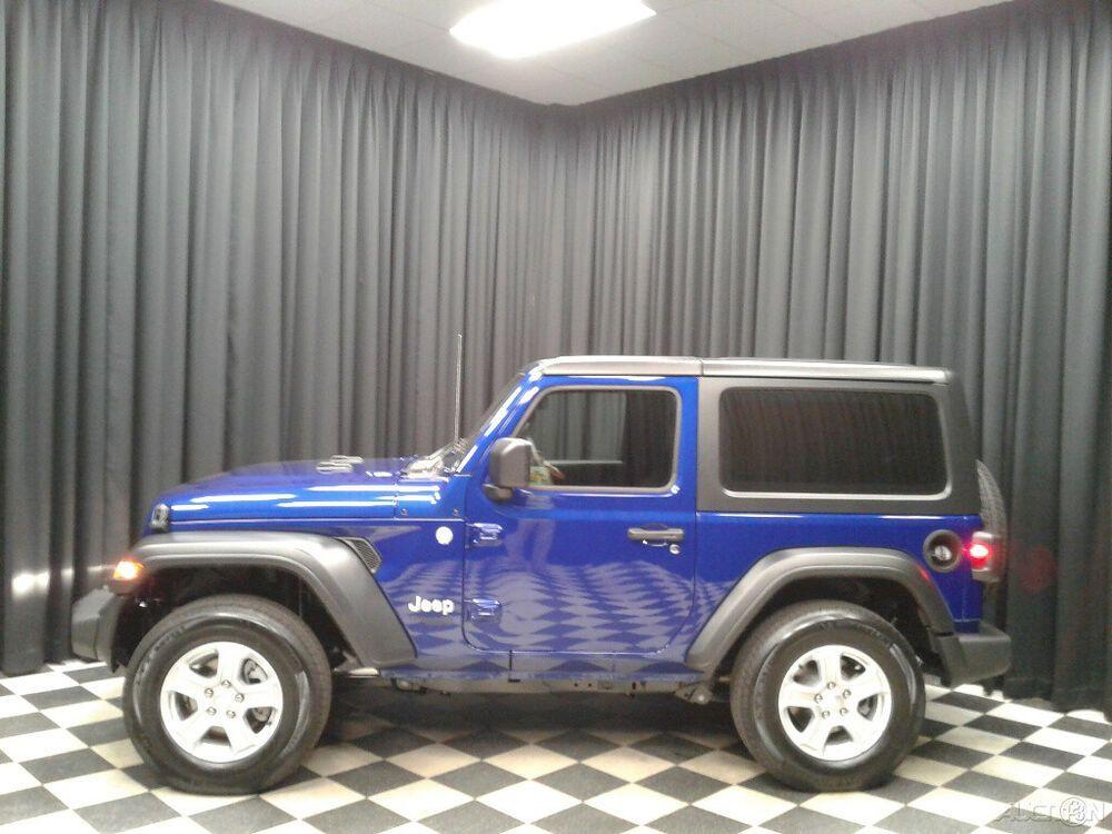 2020 Jeep Wrangler Sport S 2020 Sport S New 2L I4 16V