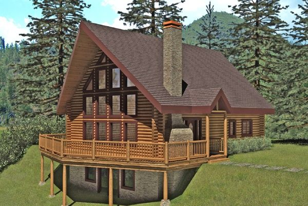 Log cabin floor plans under 1200 sq ft cabins houses for Log cabin kits knoxville tn