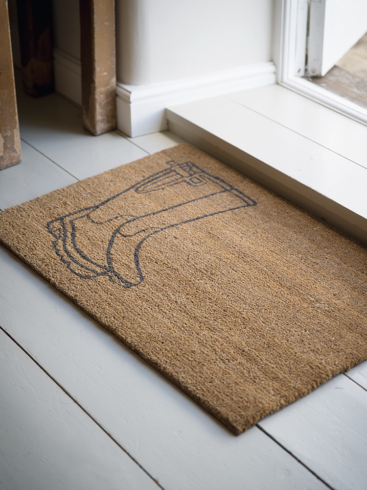 Extra Large Living Room Wall Art: Extra Large Welly Doormat - Outdoor Living