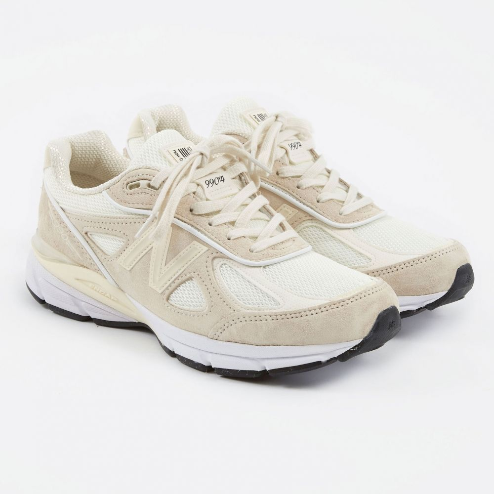 the best attitude e7d2c 56181 New Balance x Stussy 990v4 - Cream White (Image 1)