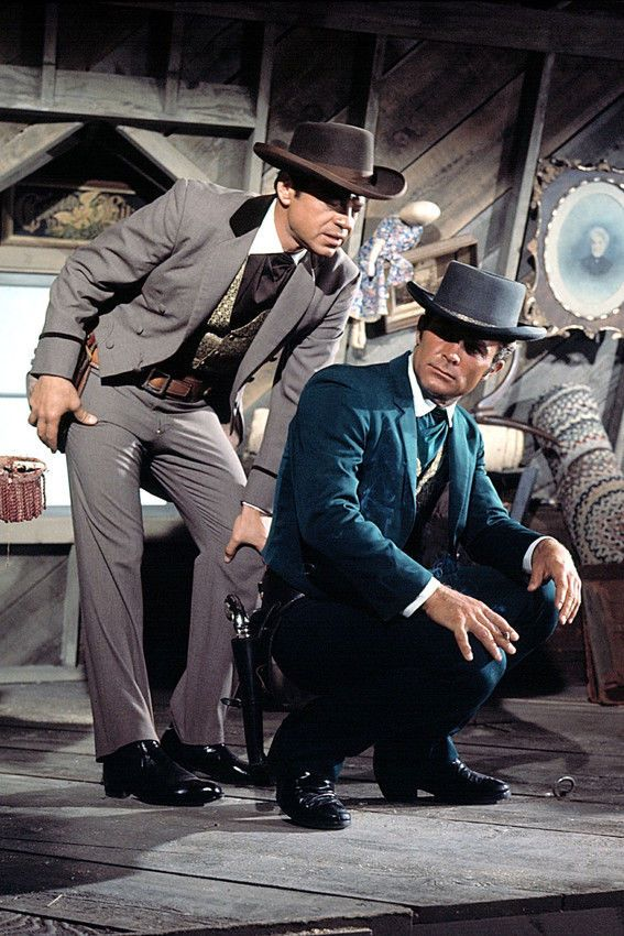 THE WILD WILD WEST ROBERT CONRAD TV 36X24 POSTER PRINT
