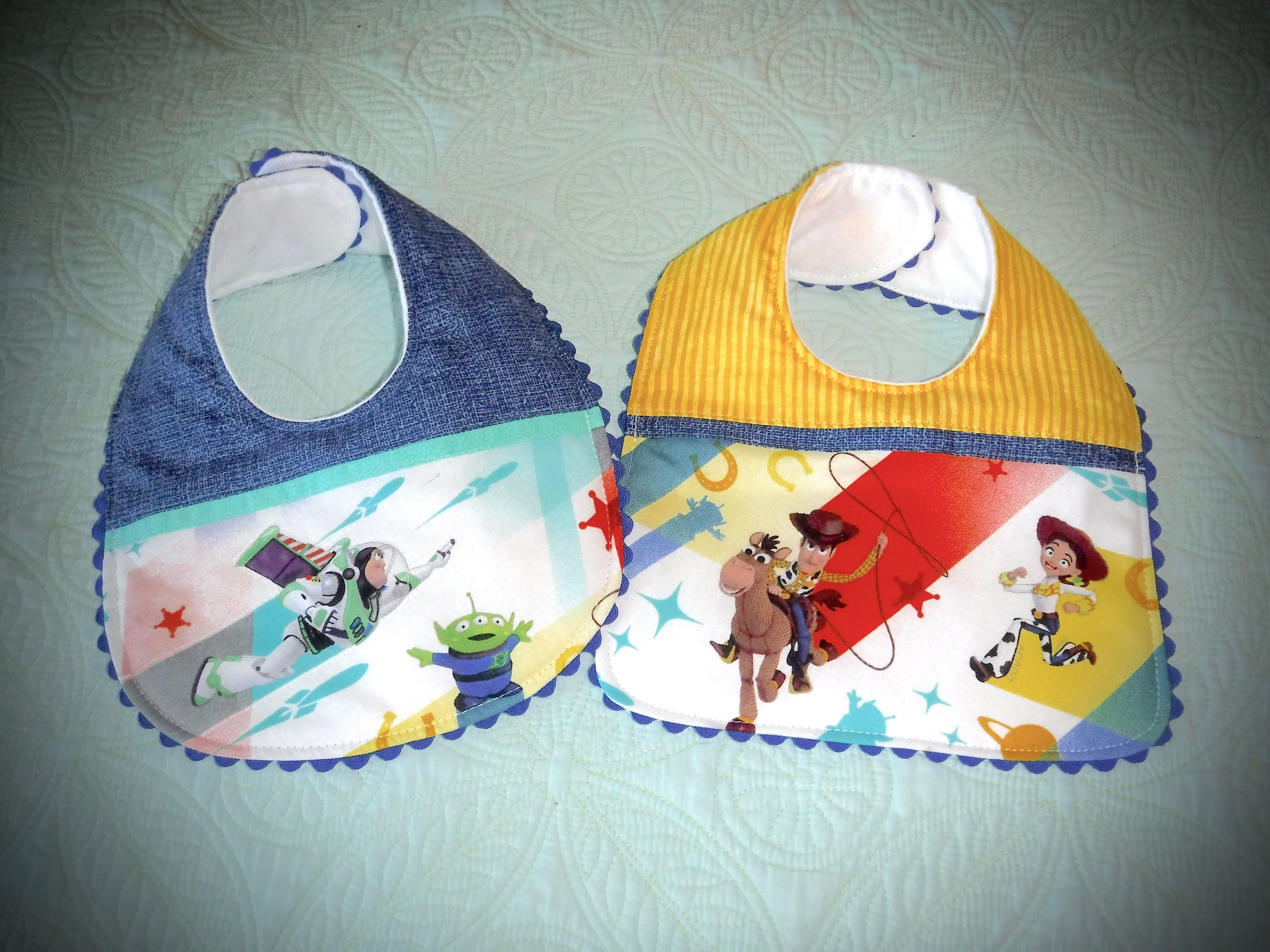 Buzz Space Alien And Woody Jessie Baby Bibs Baby Bibs Bibs